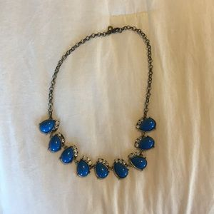 Jcrew statement necklace. Missing two stones